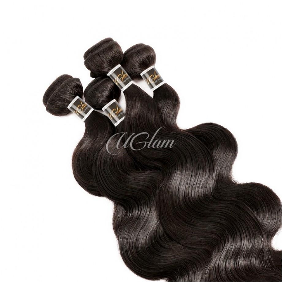 Uglam Hair 3/4pcs Bundles Brazilian Body Wave Hair Sexy Formula