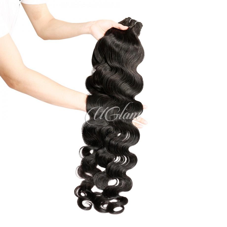 Uglam Virgin Hair Body Wave 3pcs/4pcs Bundles Deal Sexy Formula