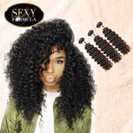 Uglam 1/3/4pcs Bundles Deep Wave Curly Sexy Formula