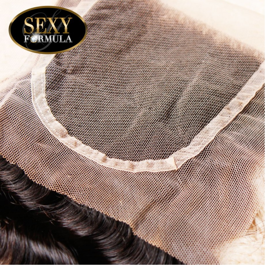 Uglam Hair 4x4 Lace Closure Malaysian Deep Wave Curly Sexy Formula
