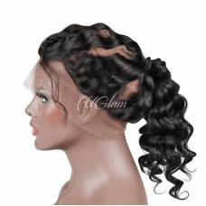 Uglam Hair 360 Lace Front Closure Malaysian Loose Wave Sexy Formula