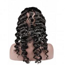 Uglam Hair 360 Lace Front Closure Peruvian Loose Wave Sexy Formula