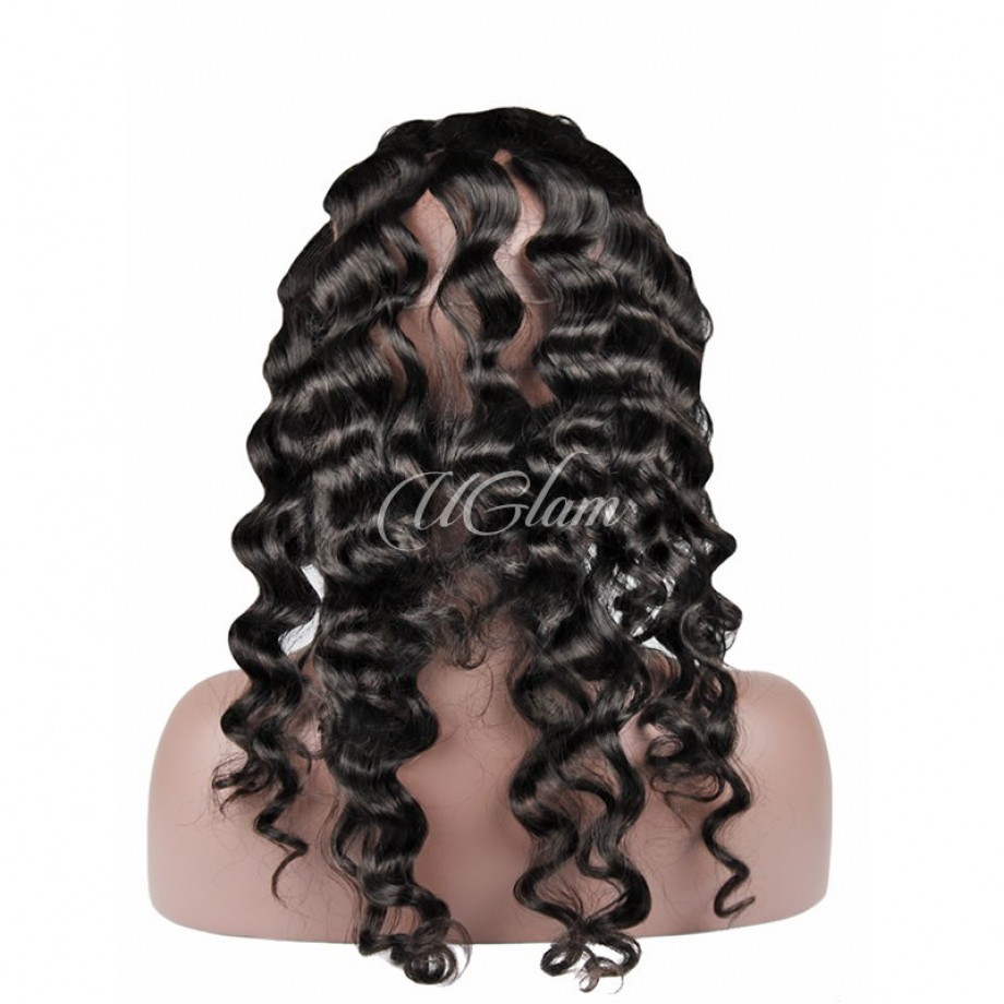 Uglam Hair 360 Lace Front Closure Peruvian Loose Wave Sexy Formula