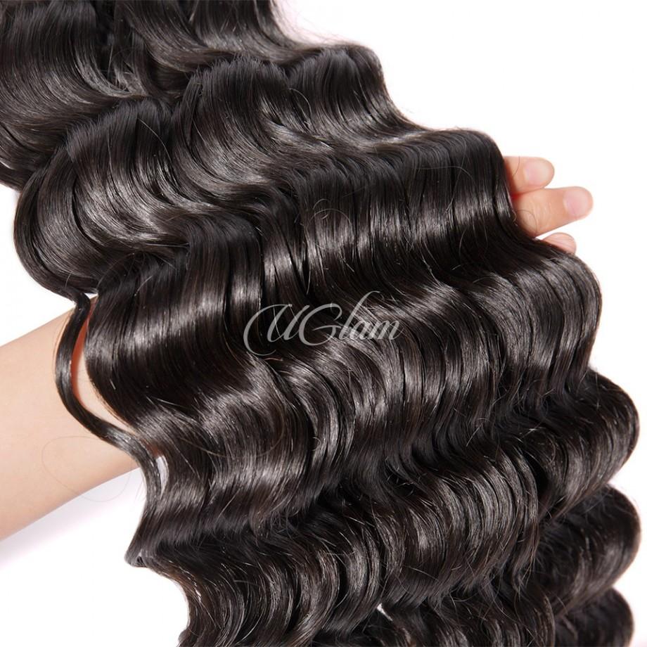 Uglam Hair 3/4pcs Bundles Malaysian Nature Wave Sexy Formula