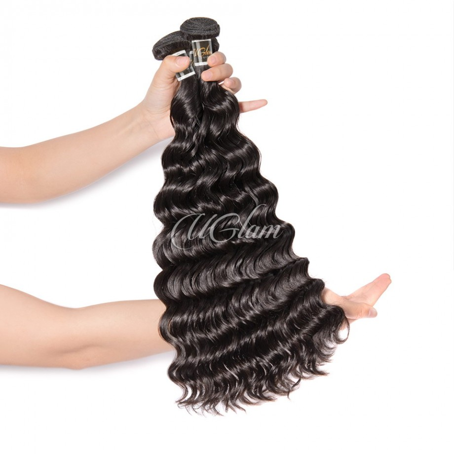 Uglam Hair 3/4pcs Bundles Peruvian Nature Wave Sexy Formula