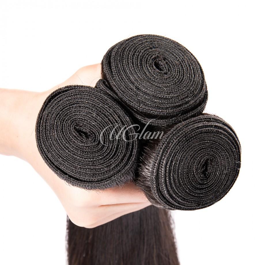 Uglam Hair 3/4pcs Bundles Malaysian Straight Sexy Formula