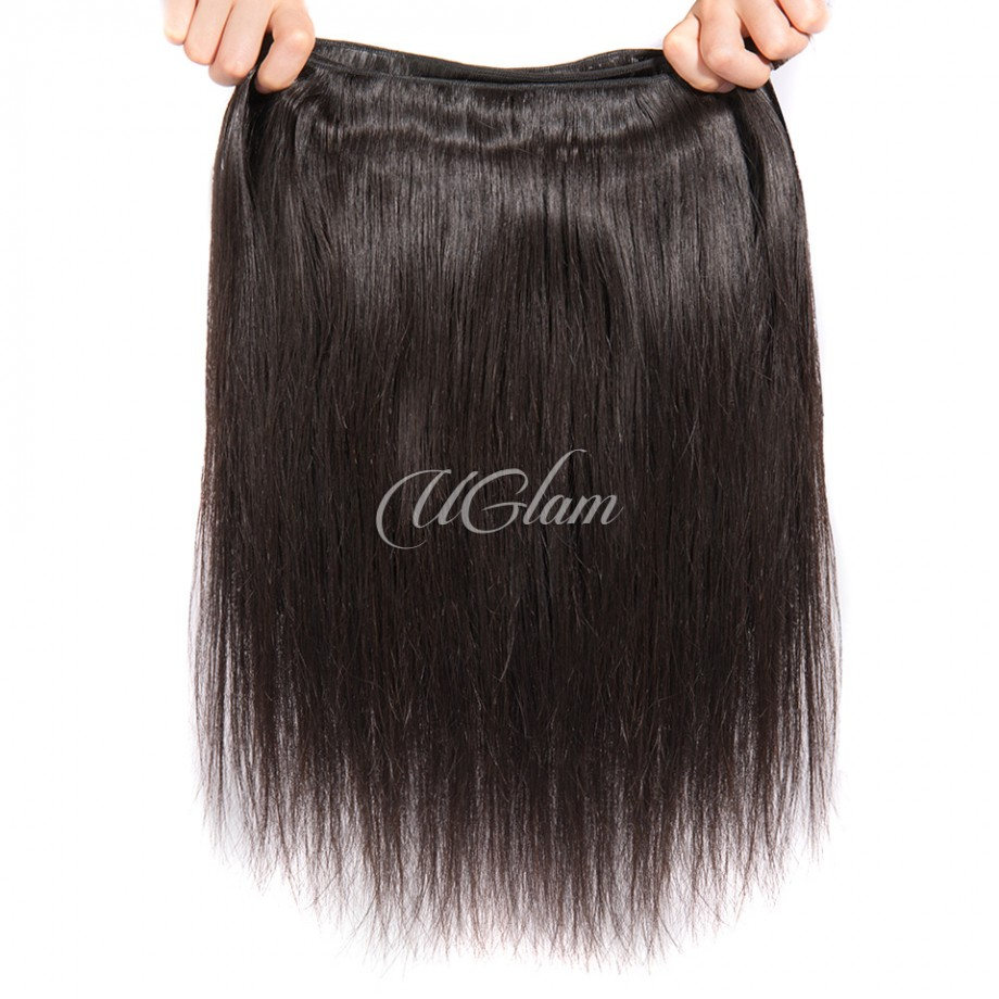 Uglam Hair 3/4pcs Bundles Peruvian Straight Hair Bundles Sexy Formula