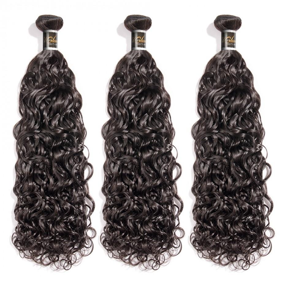 Uglam 1/3/4pcs Bundles Water Wave Hair Bundles Sexy Formula