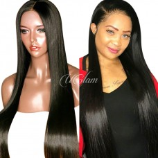 Uglam Hair 13X6 HD Lace Front Wigs Straight 150% Density