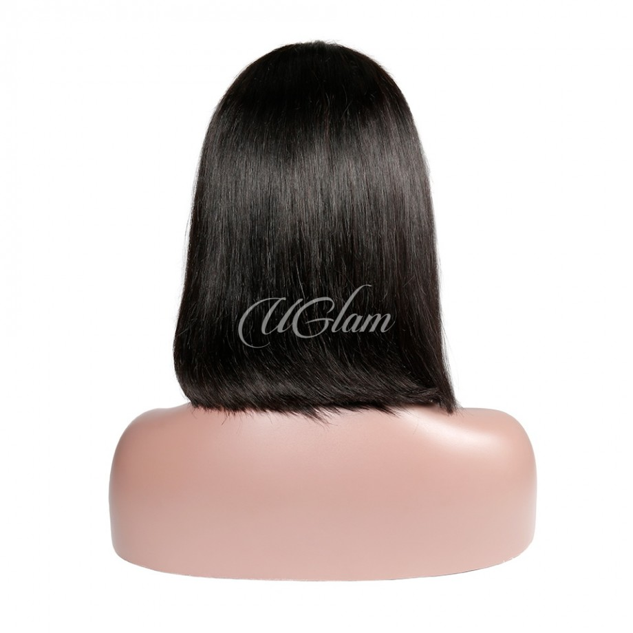 Uglam Hair 2X6 Bob Lace Front Wigs With Middle Part