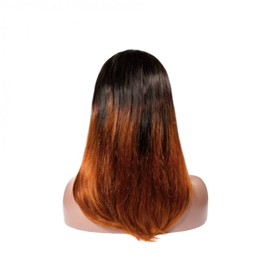 Uglam 1B/350 Color Headband Wigs Straight No PrePlucked Hairline