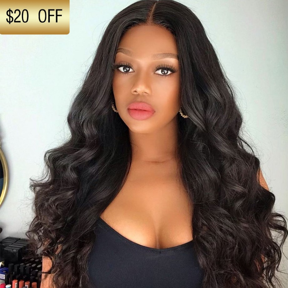 Uglam Clearence 360 Lace Front Big Curl Wig 250% Density