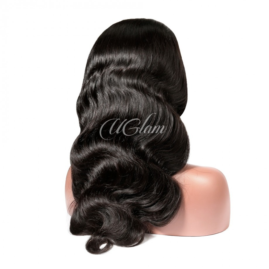 Uglam Clearence 360 Lace Front Body Wave Wig 250% Density