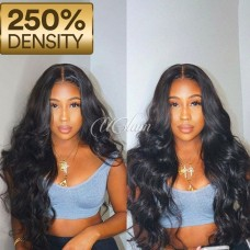 Uglam Hair 360 Lace Front Wigs Body Wave 250% Density
