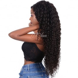 Uglam 360 Lace Front Wigs Deep Wave Curl 250% Density