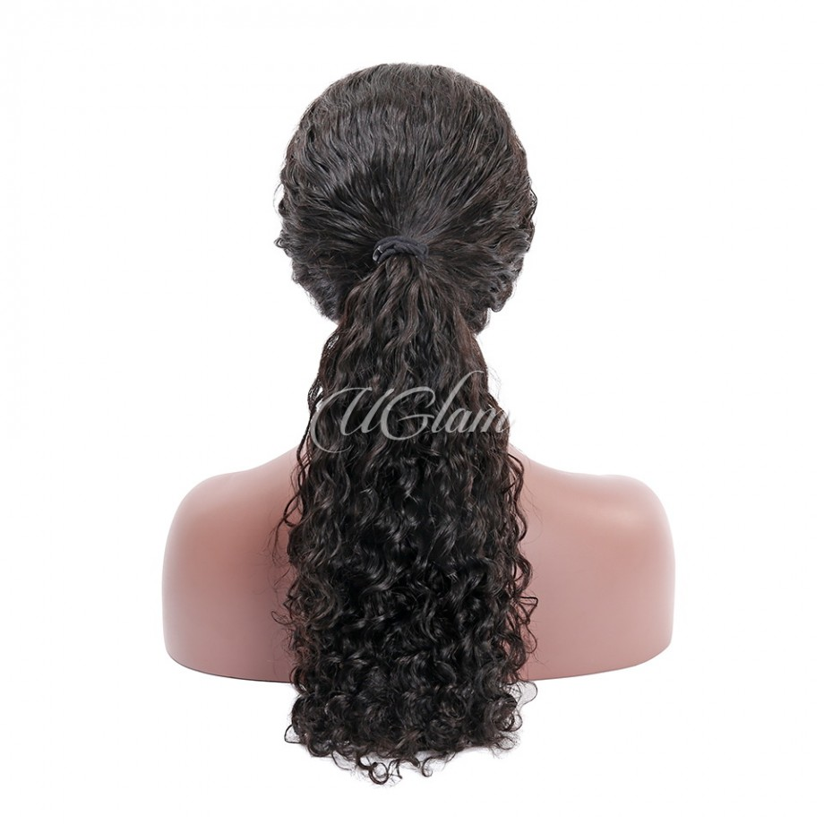 Uglam Hair 360 Lace Front Wigs Deep Wave Curl 250% Density