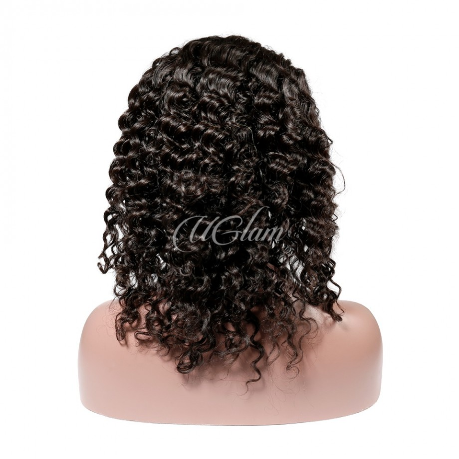 Uglam Hair Big Promotion 360 Lace Frontal Wigs Deep Wave 180% & 250% Density