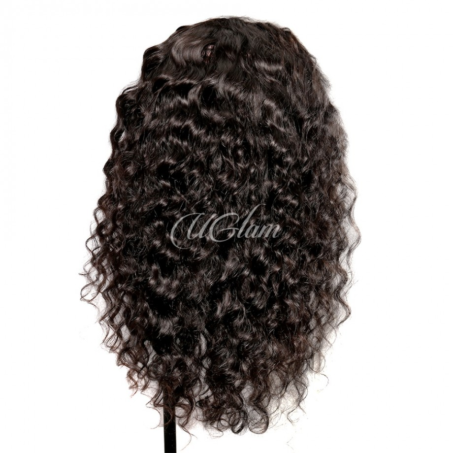 Uglam Hair 360 Lace Front Wigs Loose Wave 180% Density