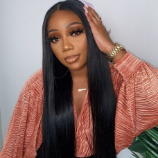 Uglam Clearence 360 Lace Front Straight Wig 250% Density
