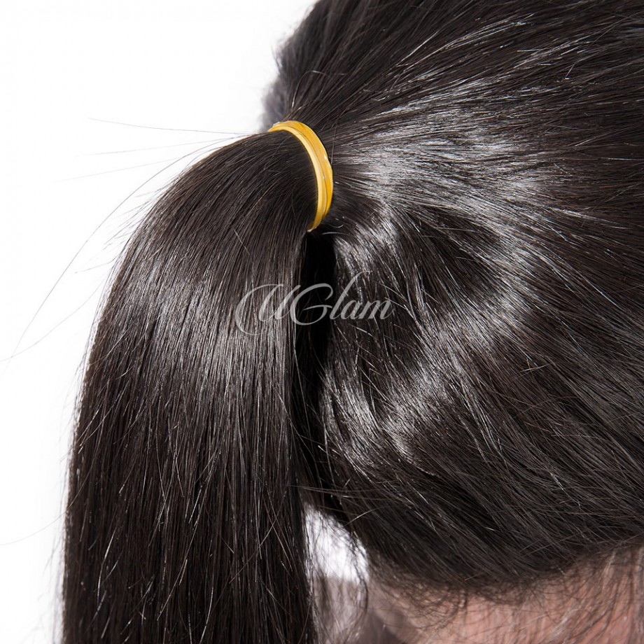 Uglam Hair 360 Lace Front Wigs Straight 250% Density