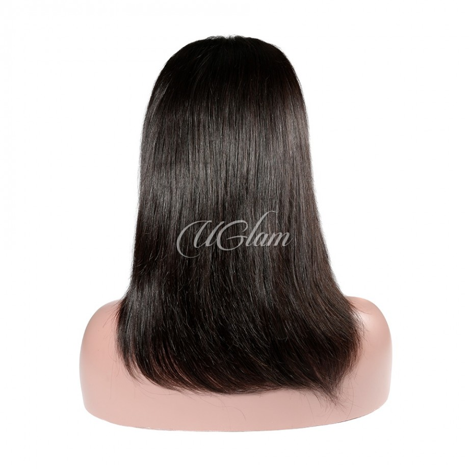Uglam Hair Big Promotion 360 Lace Frontal Wigs Straight 180% & 250% Density
