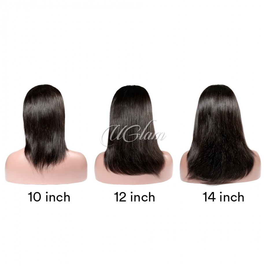 Uglam Hair Big Promotion 360 Lace Frontal Wigs Staight/Body Wave/Deep Wave 180% Density