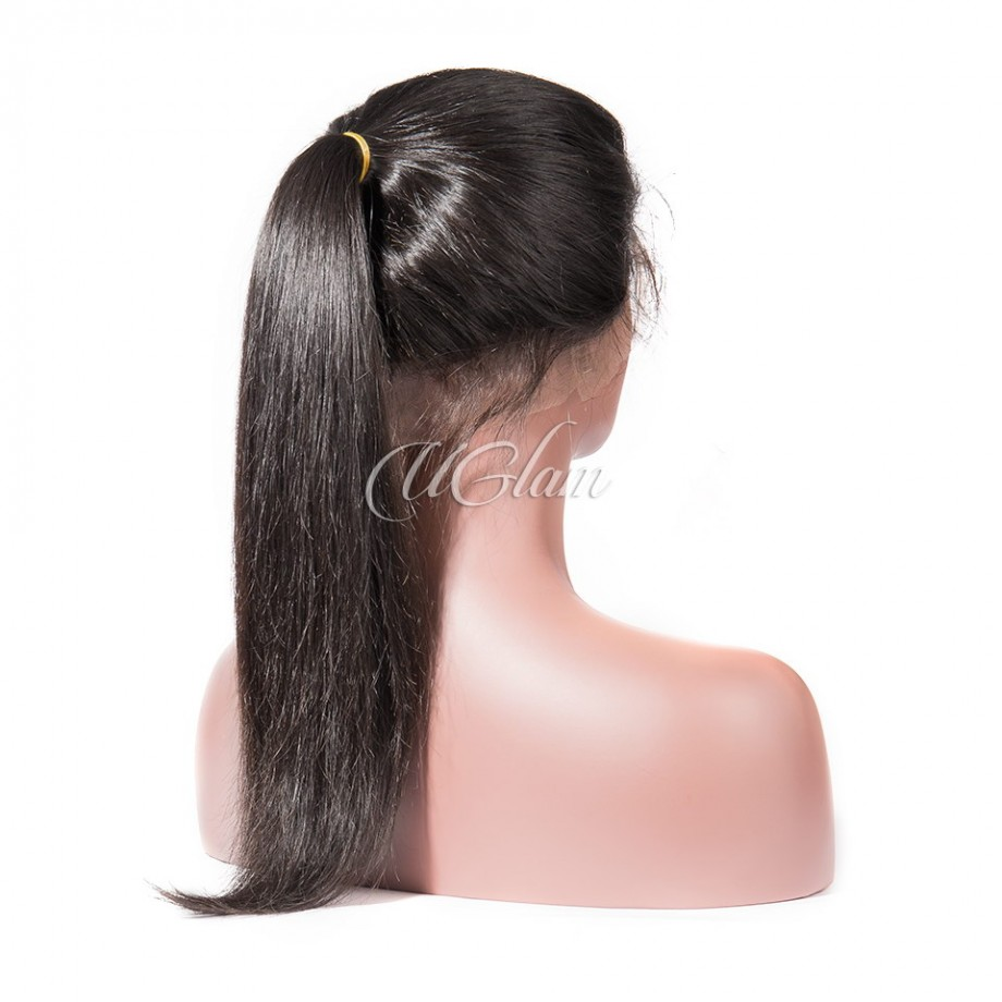 Uglam 360 Lace Front Wigs Straight 180% Density