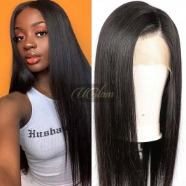 Uglam Hair 360 Lace Front Wigs Straight 180% Density