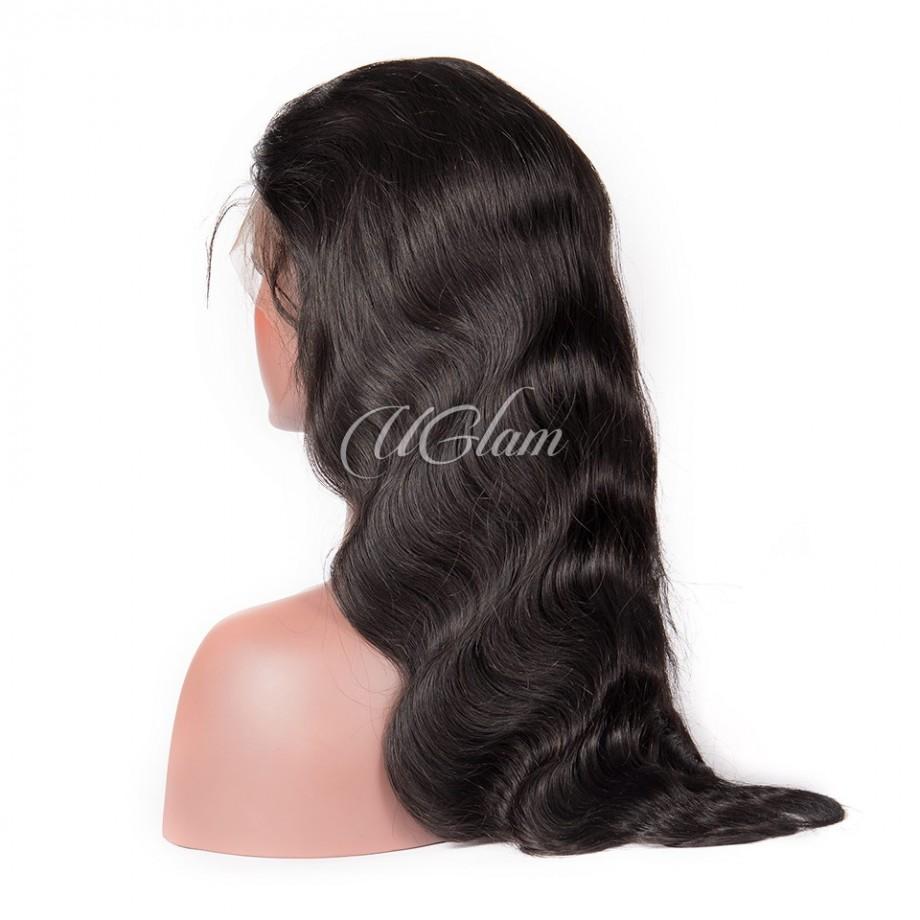 Uglam 5X5 Transparent Lace Closure Wig Body Wave