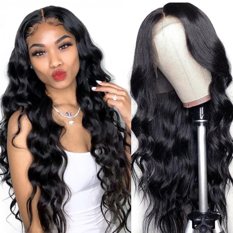 Uglam 4X4/5X5 HD Lace Closure Wig Body Wave