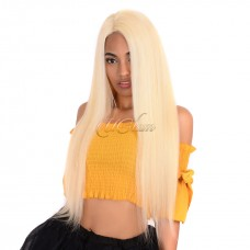 Uglam Lace Front Wigs 613 Blonde Color Straight 150% Density