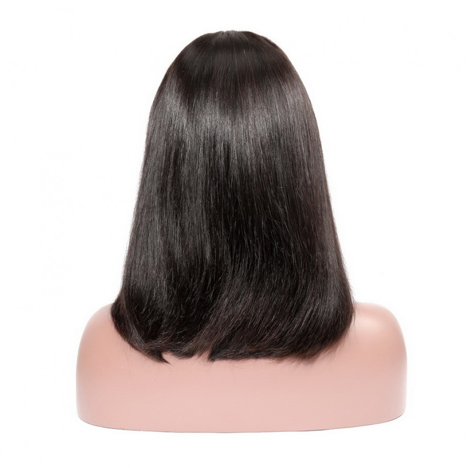 Uglam 13x4 Lace Front Straight Bob Wig