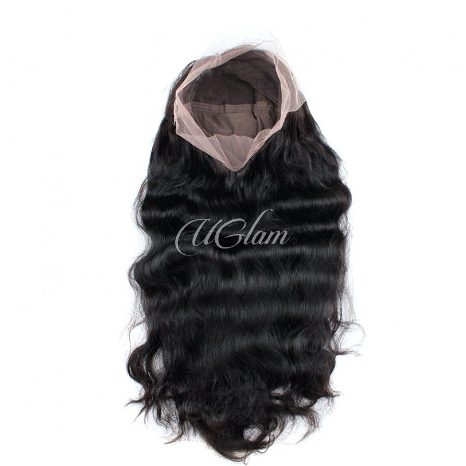Uglam Hair Full Lace Wigs Body Wave 180% Density
