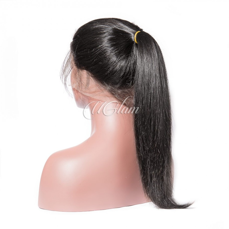 Uglam Full Lace Wigs Straight 180% Density