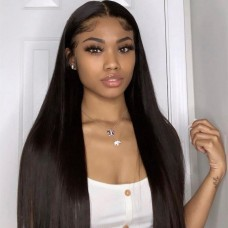 Uglam 13X4 HD Lace Front Wigs Straight 200% Density