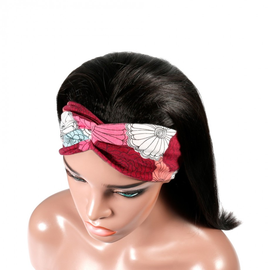 Uglam Headband Wigs Straight No PrePlucked Hairline