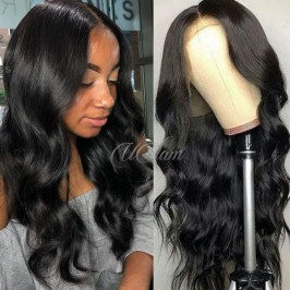 Uglam Lace Front Wigs Body Wave 200% Density