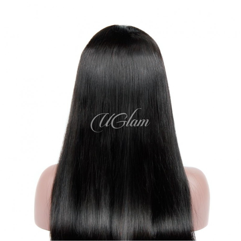 Uglam Hair Lace Front Wigs Straight 150% & 180% Density