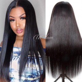Uglam Lace Front Wigs Straight 200% Density