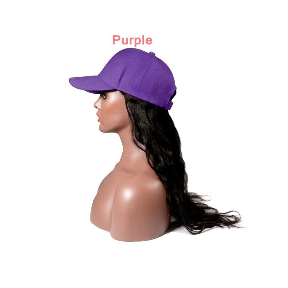 Uglam Cap Wigs Body Wave Humanhair