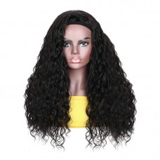 Uglam Headband Wigs Nature Wave No PrePlucked Hairline