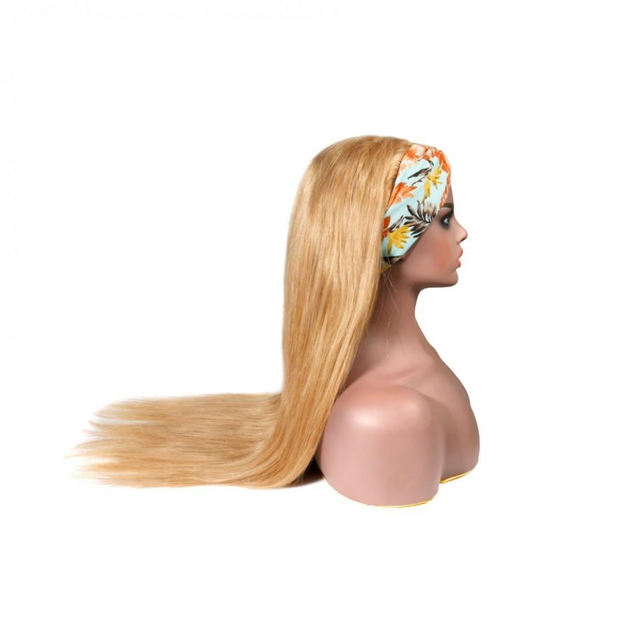 Uglam #27 Color Headband Wigs Straight No PrePlucked Hairline