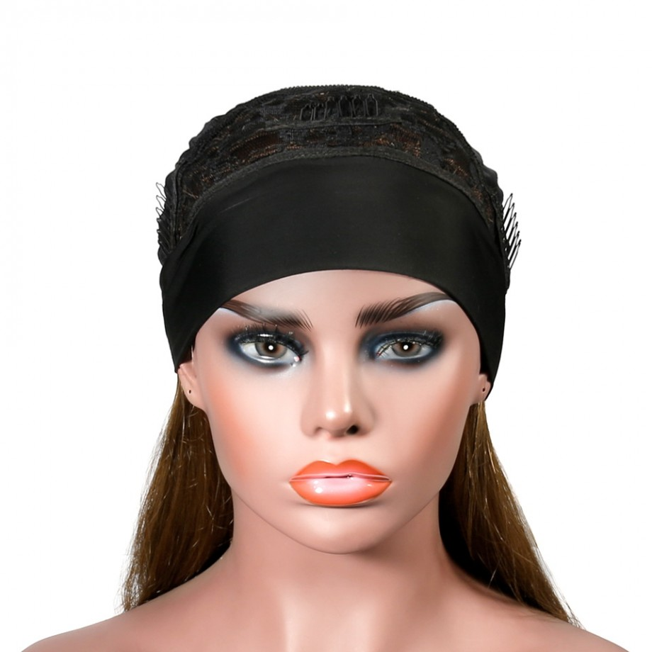 Uglam #8 Color Headband Wigs Straight No PrePlucked Hairline