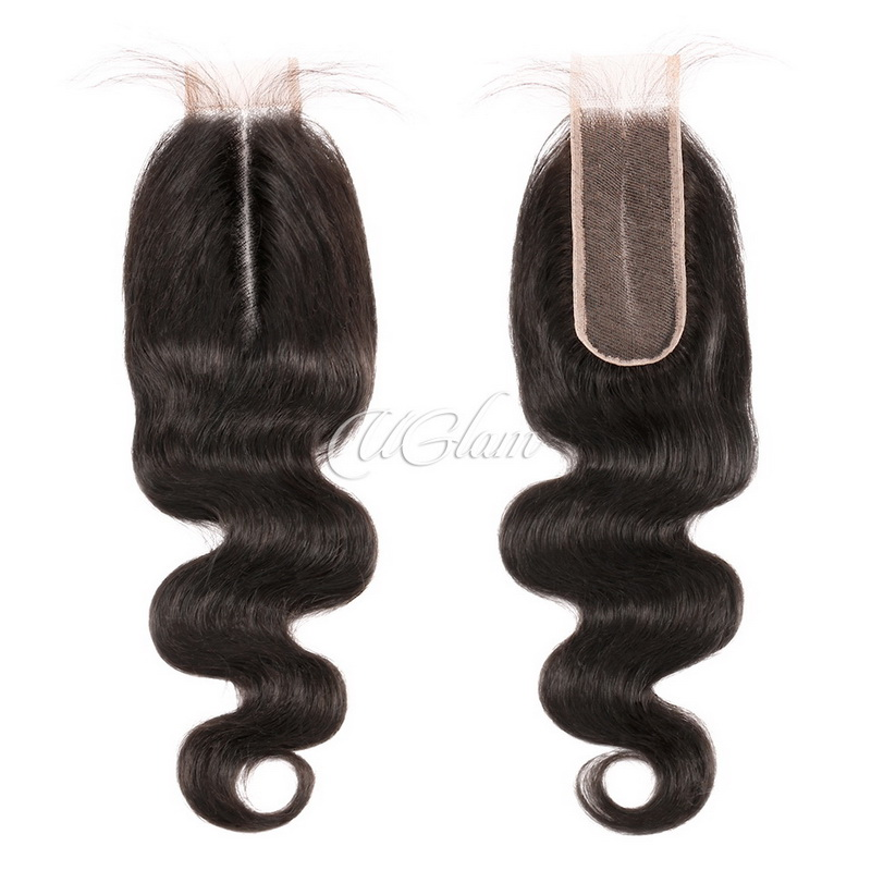 Uglam Hair 2x6 Lace Closure Body Wave Sexy Formula