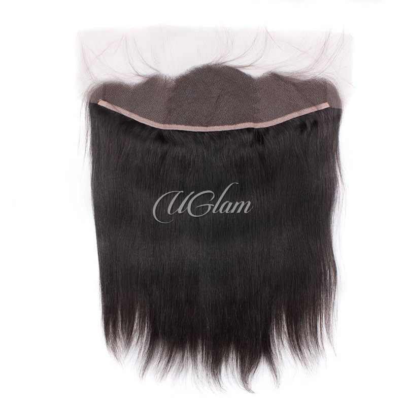 Uglam Hair 13x4 Lace Front Closure Brazilian Straight Sexy Formula