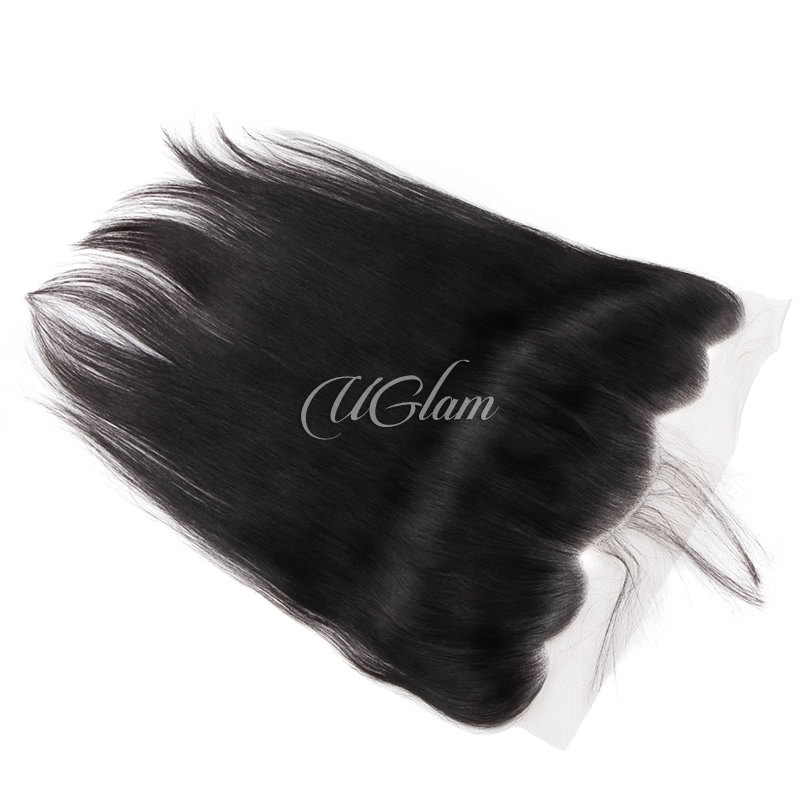 Uglam Hair 4x13 Lace Front Closure Peruvian Straight Sexy Formula