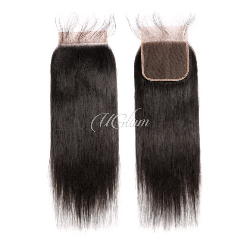 Uglam Hair 5x5 Lace Closure Straight Sexy Formula