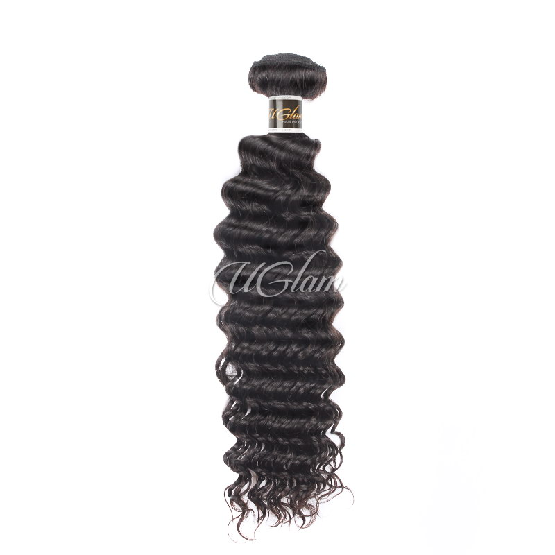 Uglam Hair Brazilian Deep Wave 3pcs/4pcs Bundles Deal
