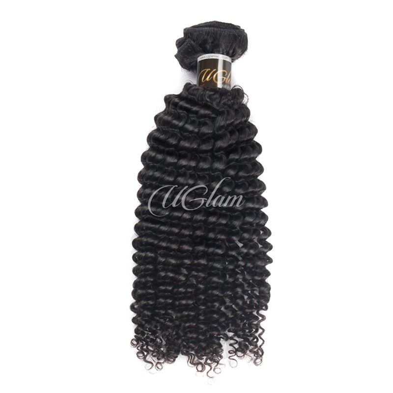 Uglam Hair Peruvian Kinky Curly 3pcs/4pcs Bundles Deal