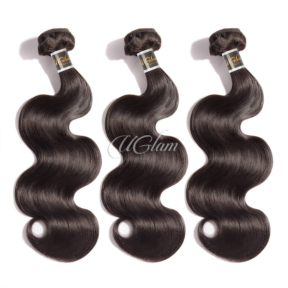Uglam Hair 3/4pcs Bundles Brazilian Body Wave Hair Sexy Formula